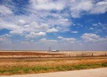 Texas Prairie Landscape imagenes de archivo
