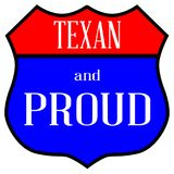 Texas And Proud Royalty Free Stock Photo