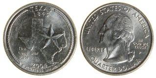 Texas Quarter images stock
