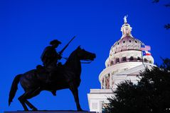 The Texas Ranger Memorial royalty free stock images