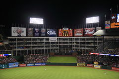 Texas Rangers Ballpark in Arlington Royalty Free Stock Image