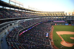 Texas Rangers Ballpark in Arlington Stock Photography