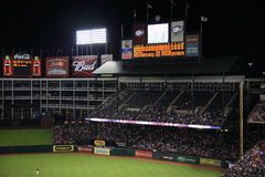 Texas Rangers Ballpark in Arlington Stock Photo