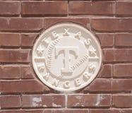 Texas Rangers Baseball Club imagen de archivo libre de regalías