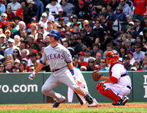 Texas Rangers de los jóvenes de Mike Imagenes de archivo