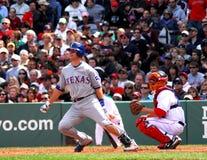 Texas Rangers dos jovens de Mike Imagens de Stock
