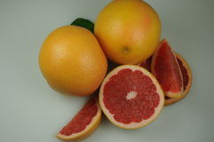 Texas red grapefruit Stock Photography