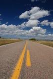 Texas Road Arkivbild