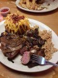 Texas roadhouse dinner