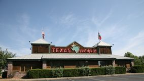 Texas Roadhouse Restaurant Stock Photography
