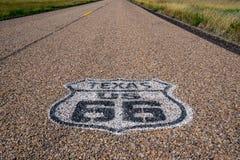 Texas Route 66 stockfotos