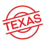 Texas rubber stamp Royalty Free Stock Images