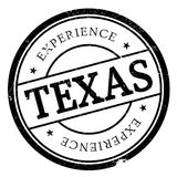 Texas rubber stamp Stock Photography