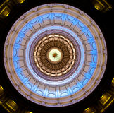 Texas Sate Capitol dome (inside) Royalty Free Stock Photography