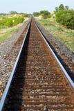 Texas-Schienenstraße Stockbild