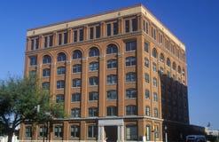 Texas School Book Depository Building, sito dell'assassinio di JFK, Dallas, TX fotografie stock libere da diritti