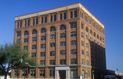 Texas School Book Depository Building, Standort von JFK-Ermordung, Dallas, TX lizenzfreie stockfotos