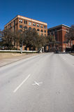 Texas School Book Depository Dallas Texas, Kennedy Royalty Free Stock Photo