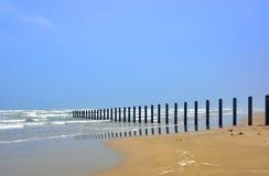 Texas Seaside View du sud photographie stock libre de droits