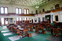 Texas Senate Chamber Royalty Free Stock Photography