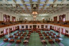 Texas Senate Chamber arkivbild