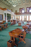 Texas Senate Chamber Stock Photo