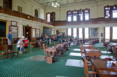 Texas Senate Chamber Stock Photo