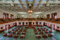 Texas Senate Chamber Stock Photography