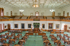 Texas Senate Chamber interior view Stock Images