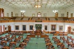 Texas Senate Chamber interior view stock images