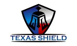 Texas Shield Template Photos stock
