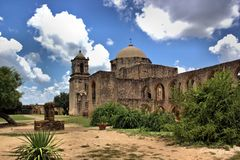 Texas Spanish Mission Royalty Free Stock Photography