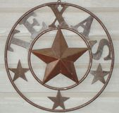 Texas Star Photographie stock