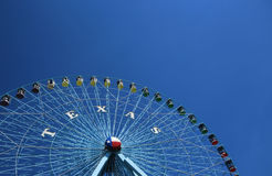 The Texas Star Ferris Wheel, Dallas Texas Stock Photo