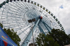 Texas Star. The Texas Star ferris wheel at the State Fair of Texas, the largest ferris wheel in North America Stock Photo