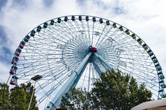 The iconic Texas Star ferris wheel at the State Fair of Texas Stock Images