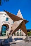 Texas Star framme av Bob Bullock Texas State History Museu Arkivfoton