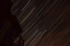 Texas Star Trails central Fotos de archivo libres de regalías