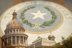 Texas state capital Royalty Free Stock Photos