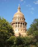 Texas State Capital Through Trees Royalty Free Stock Photography