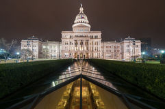Texas State Capital Wide images libres de droits