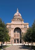 Texas State Capitol. The front view of the Texas State Capitol Stock Photos