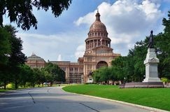 The Texas State Capitol Stock Photos