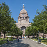 Texas state capitol in Austin Stock Photo