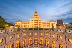 Texas State Capitol Building Royalty Free Stock Photos