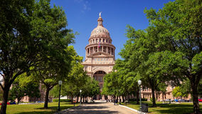Texas State Capitol Building in Austin, Texas Royalty Free Stock Image