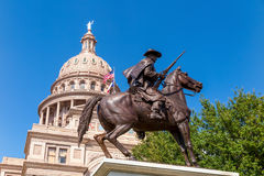 Texas State Capitol Building in Austin. TX stock photo