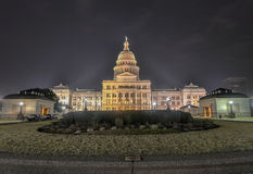 Texas State Capitol Building Extension, notte immagini stock