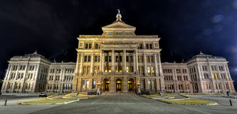 The Texas State Capitol Building, Night Royalty Free Stock Image