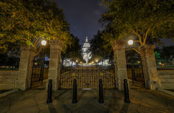 The Texas State Capitol Building, Night Stock Photos